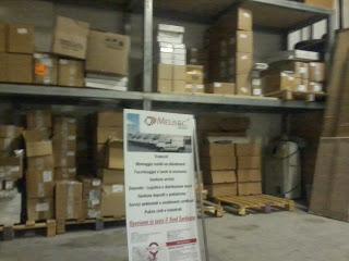 Stoccaggio e distribuzione merci