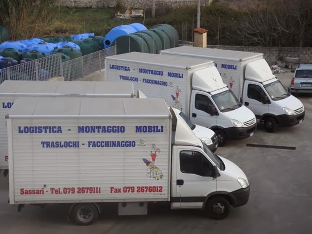 Distribuzione logistica Sassari