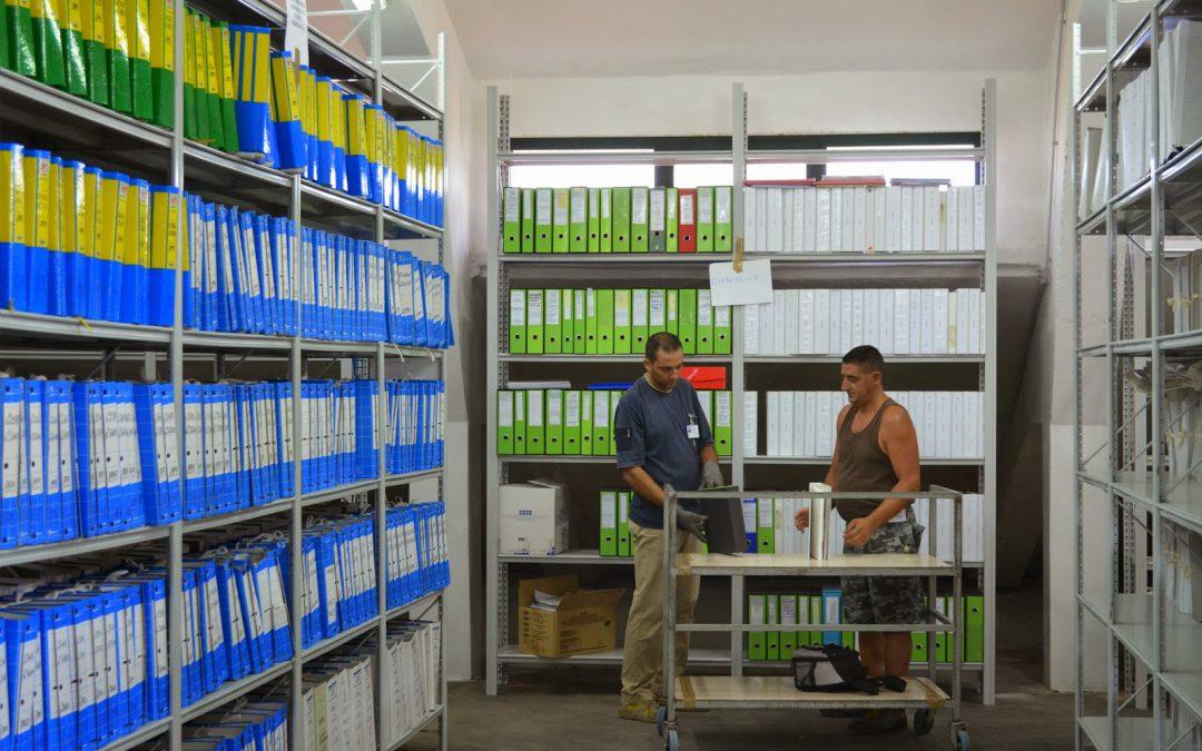 Gestione archivi elettronici documenti Sassari
